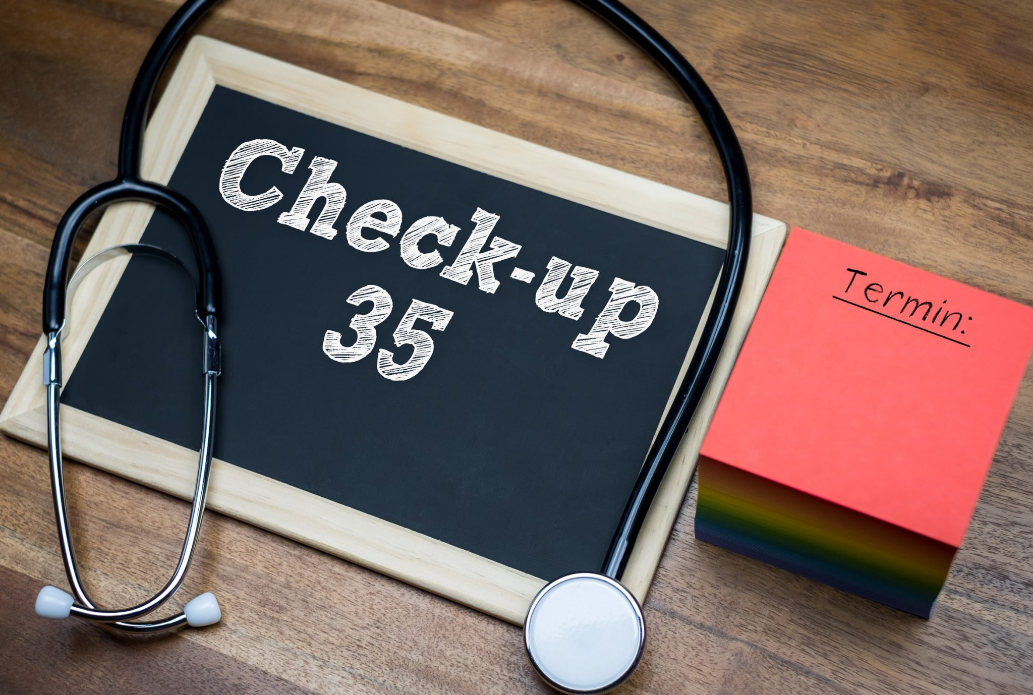 Check Up 35 NEU ab 01.04.2019
